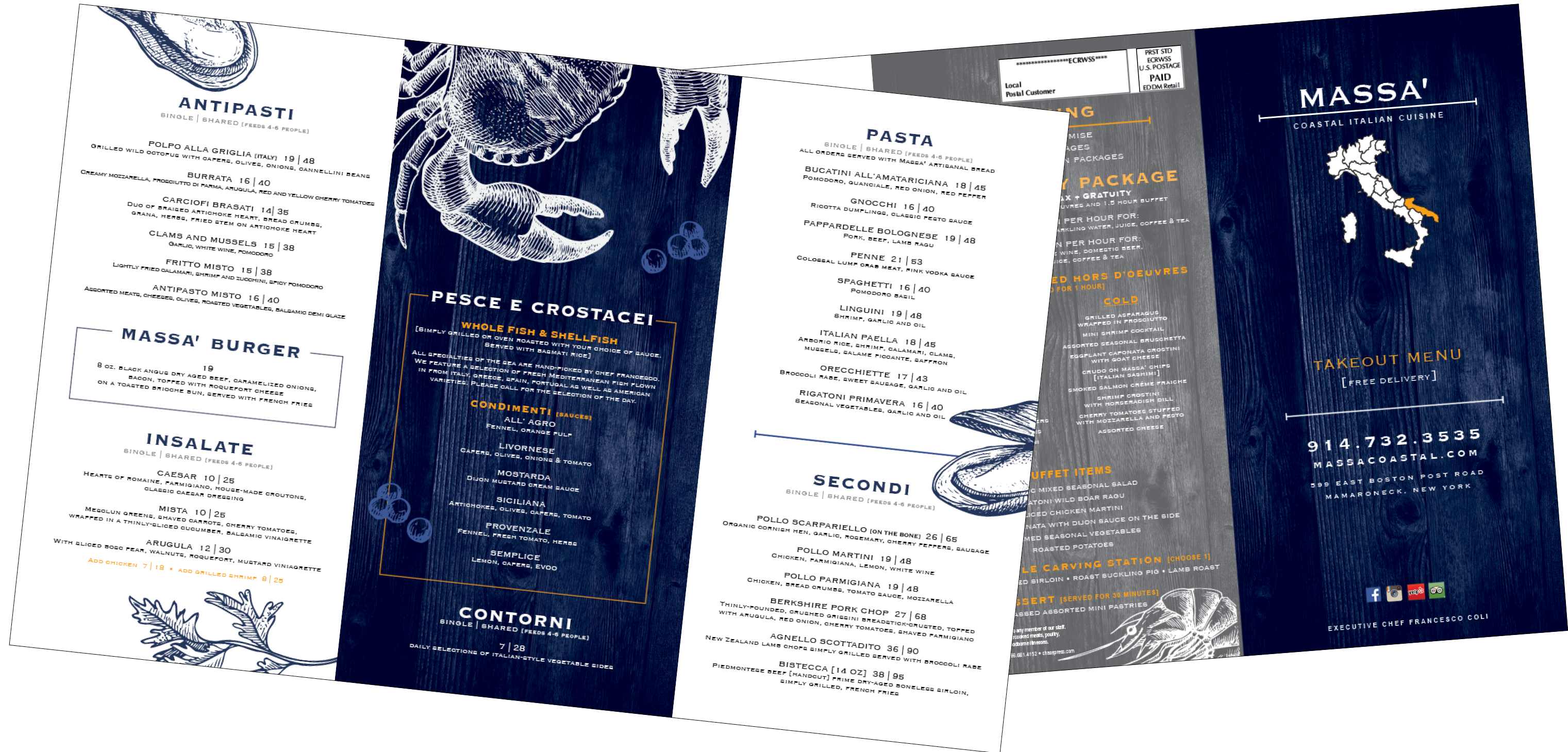 takeout menu printing and delivery